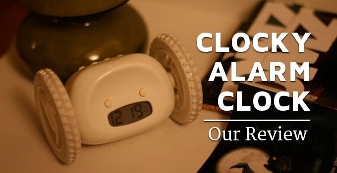 clocky alarm clock our review
