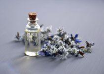 jasmine essential oil in a jar