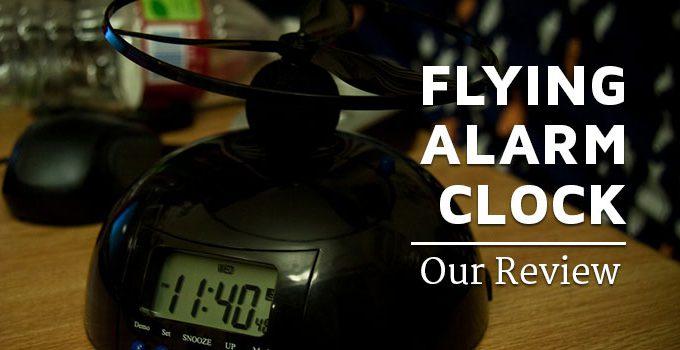 FLYING ALARM-CLOCK